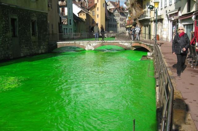 rios franceses verdes