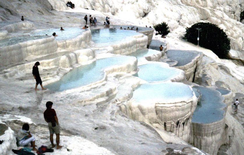 10 cachoeiras mais bizarras Pamukkala turquia