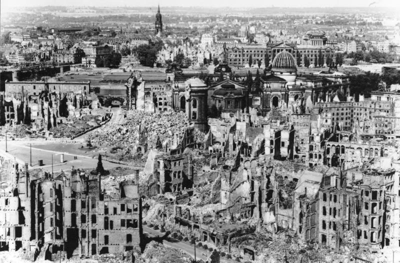 Desden Alemanha segunda guerra mundial