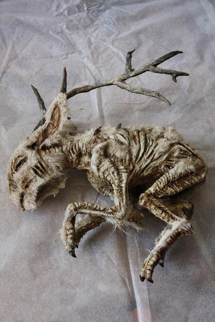 esqueletos criaturas fantasticas esculturas alex cf (5)