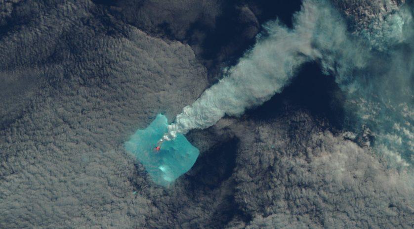 Erupção de 24 de abril de 2016