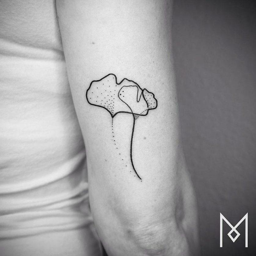 tatuagem uma linha minimalista 28