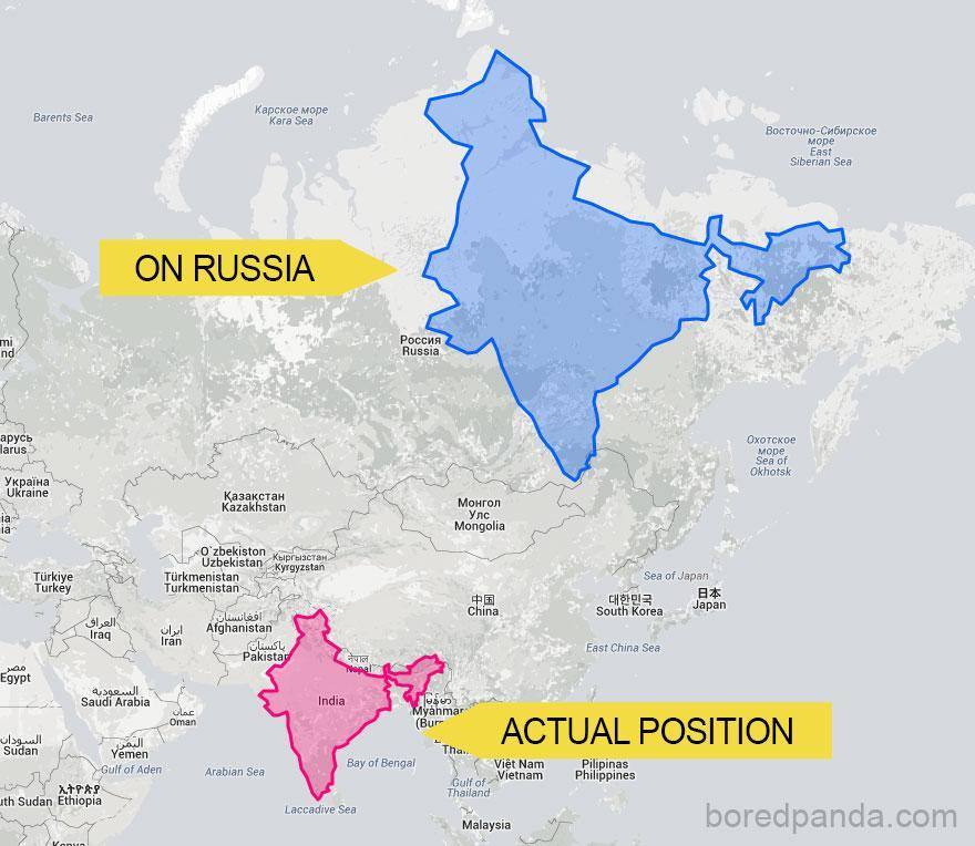 1 mapas mercator tamanhos reais