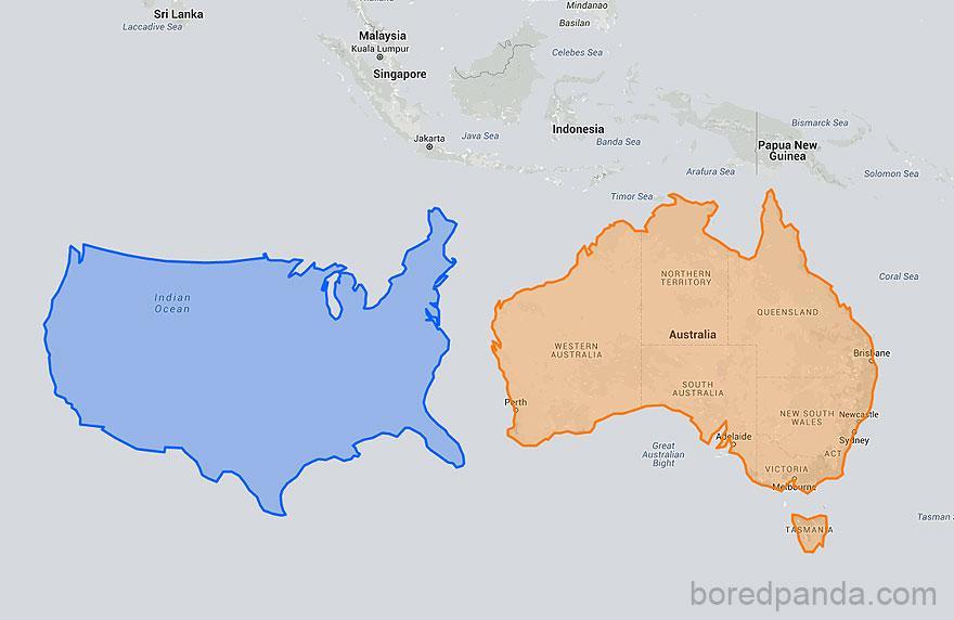 15 mapas mercator tamanhos reais