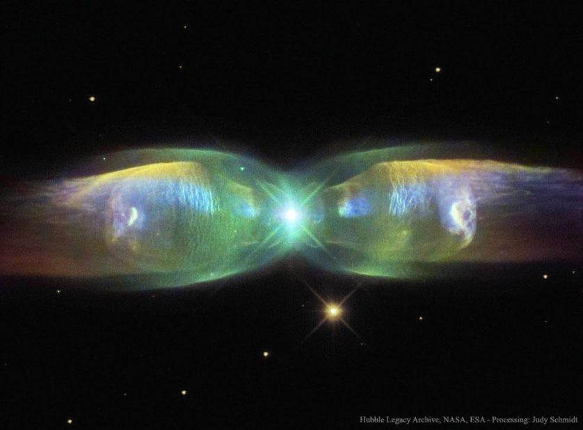 As asas da nebulosa Borboleta
