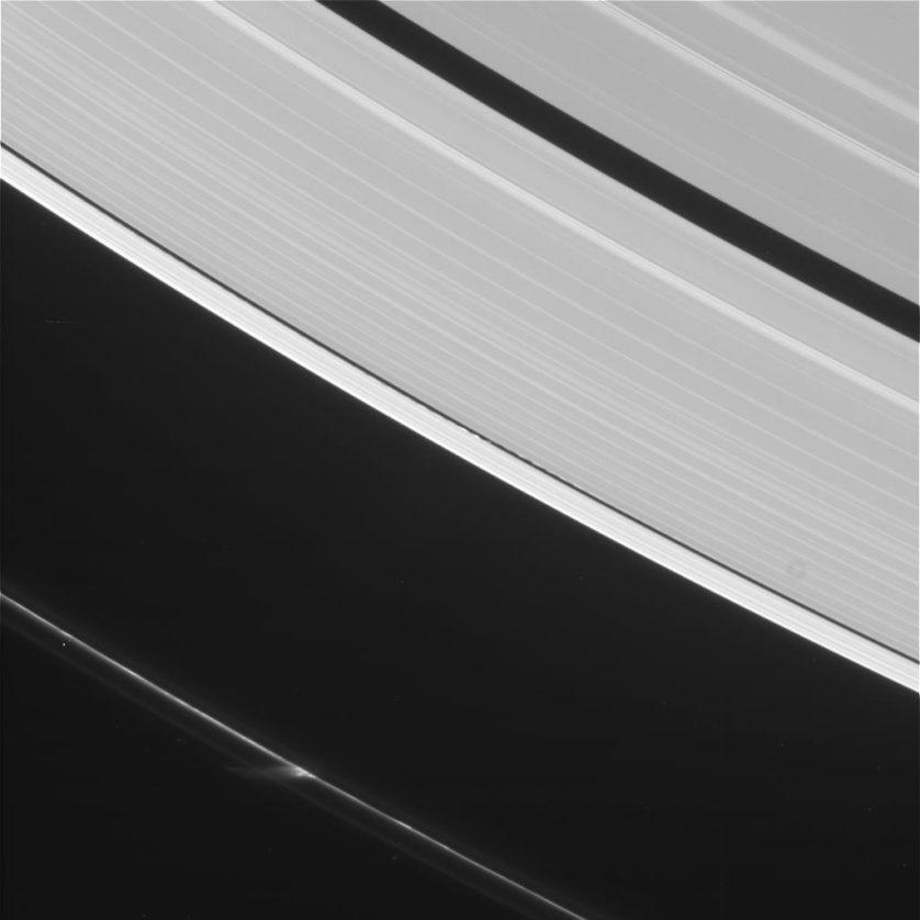 Imagem feita pela sonda Cassini