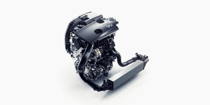 novo motor do INFINITI, VC-T com taxa de compressão variando de 8:1 para 14:1