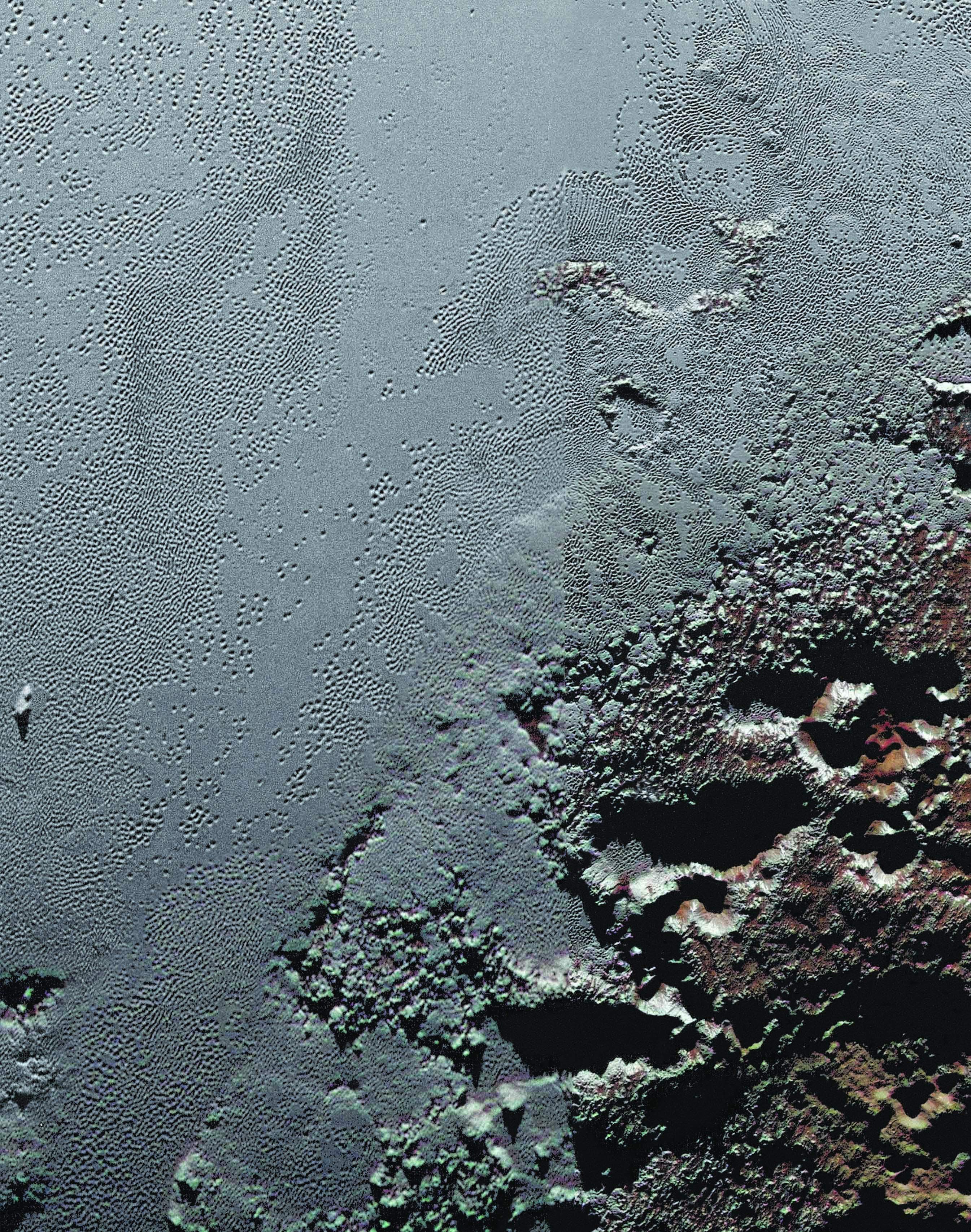 plutão 2 Planície Sputnik Planum e região Krun Macula