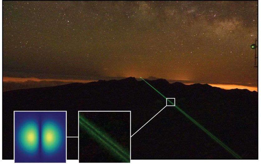 Físicos disparam um raio laser entre dois observatórios em La Palma e Tenerife