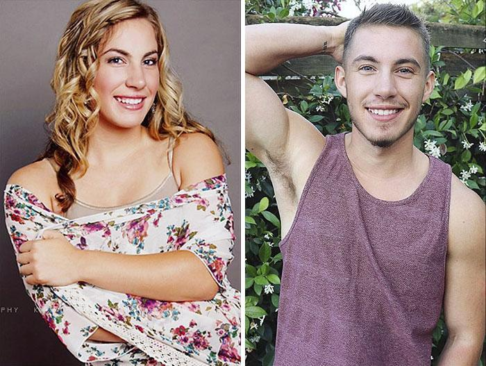 Homem Trans Compartilha Fotos Incrveis De Antes E Depois-3460
