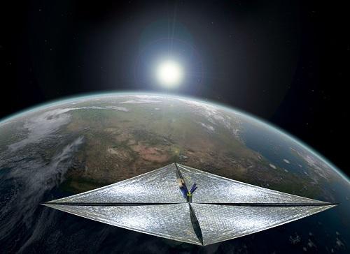 vela espacial
