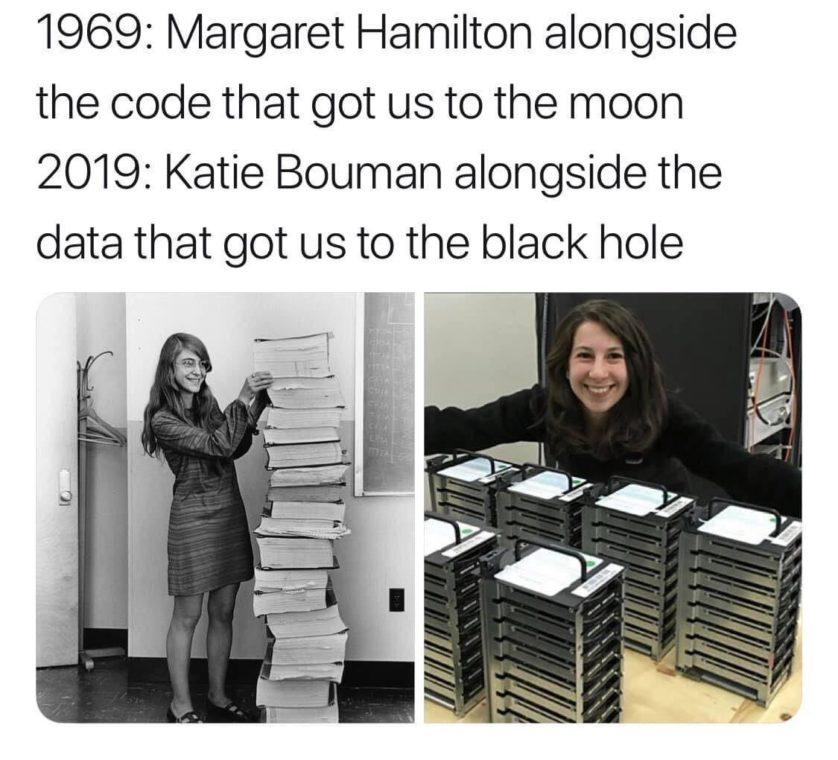Katie Bouman, a mulher que ajudou a transformar nossa visão de buracos negros para sempre