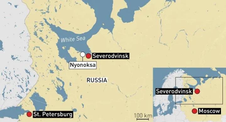Especialistas confirmam que a explosão russa do início de agosto provavelmente foi em um reator nuclear