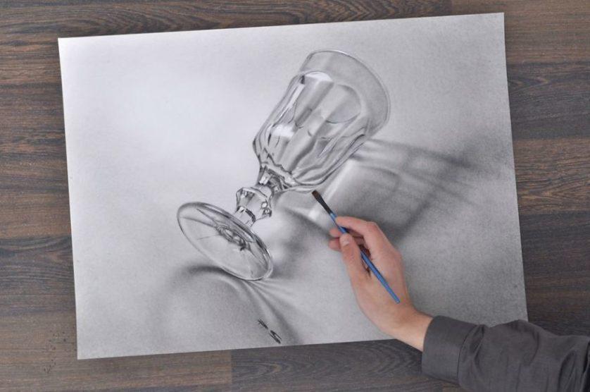 Stefan Pabst Artista Alemao Cria Desenhos 3d Absolutamente Incriveis