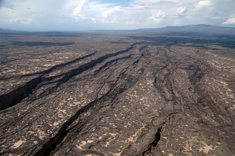 A fenda tectônica na Etiópia que se transformará em um novo oceano na África