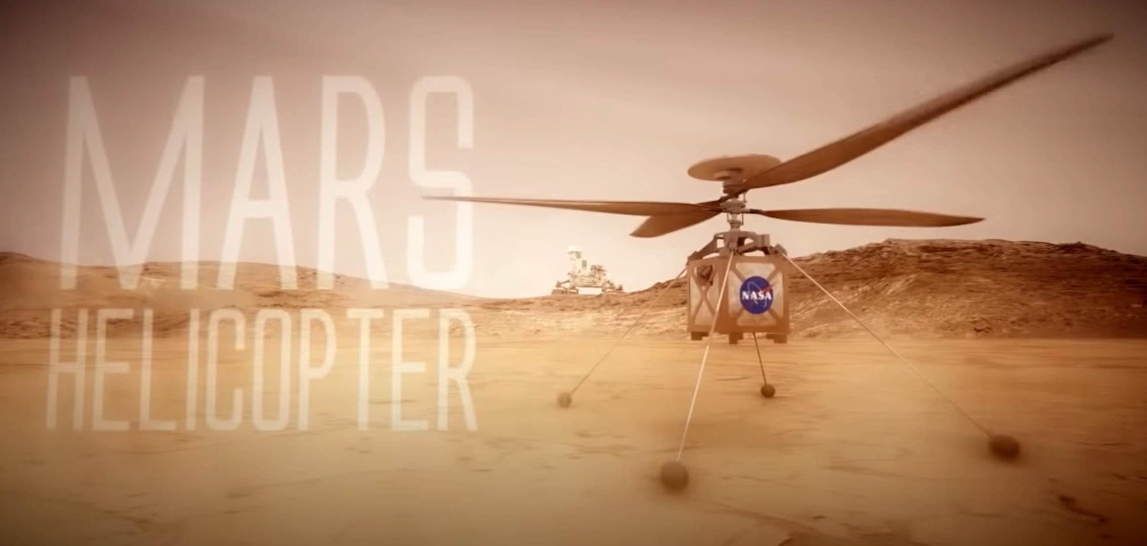 Helicóptero de marte
