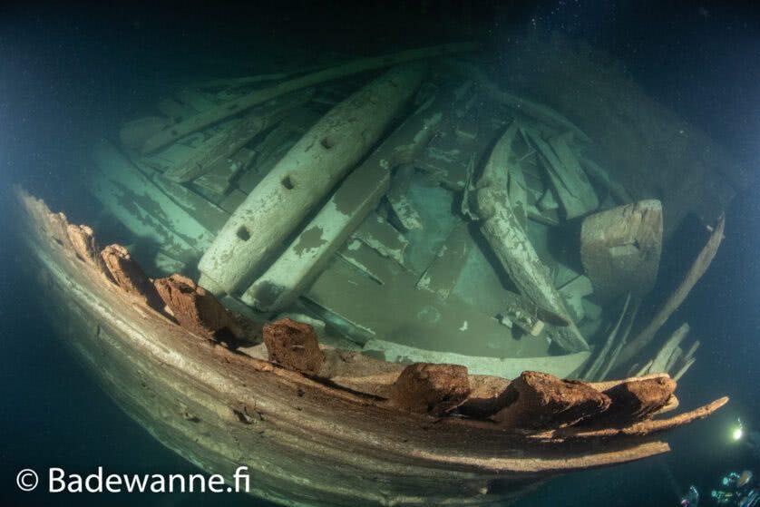 navio do seculo 17 descoberto mar baltico