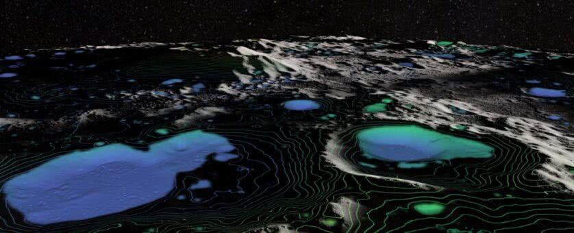 Cientistas acabam de relatar a primeira detecção inequívoca de água na lua