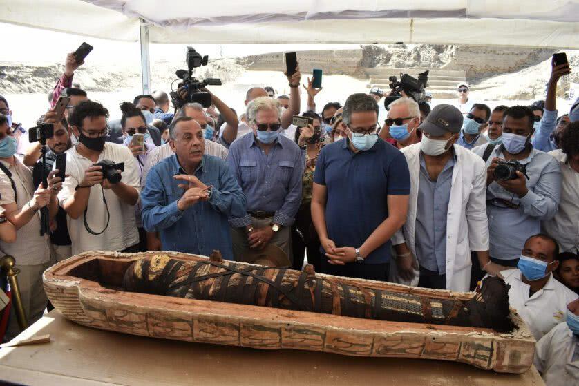 A múmia completamente revelada