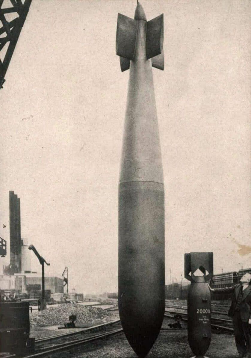 Tallboy: bomba da 2a Guerra que explodiu na Polônia