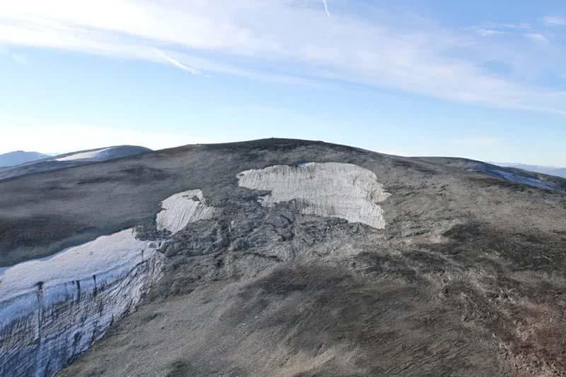 Mancha de gelo de Langfonne