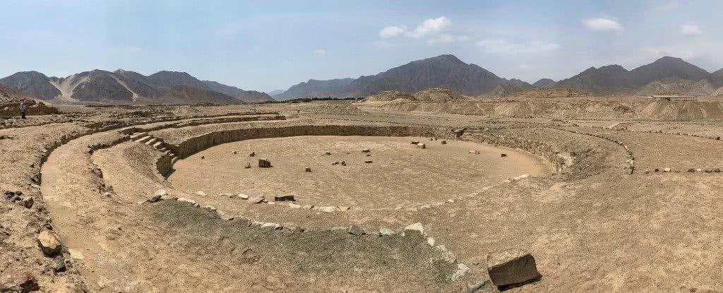 complexo arqueológico de Caral.
