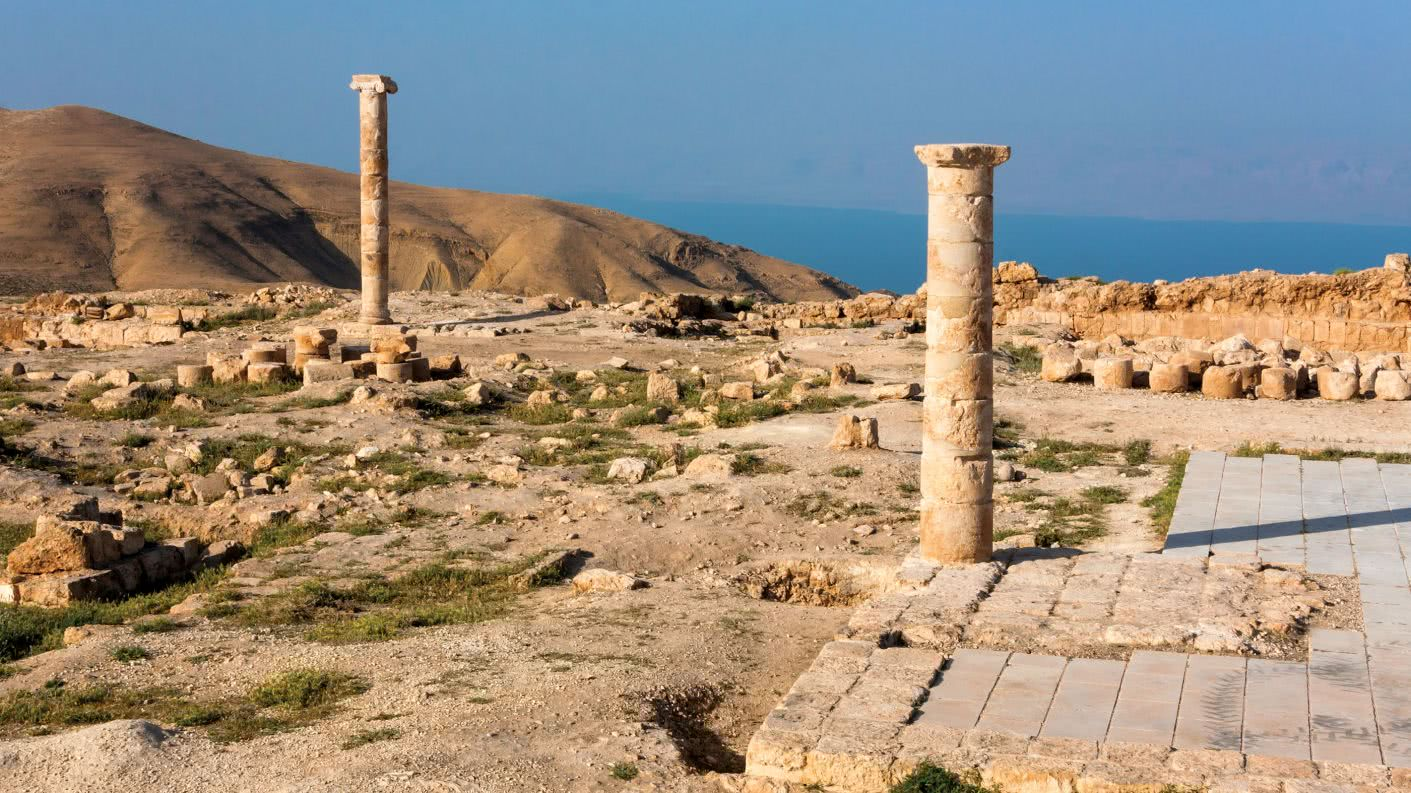 Ruínas onde João Batista foi condenado